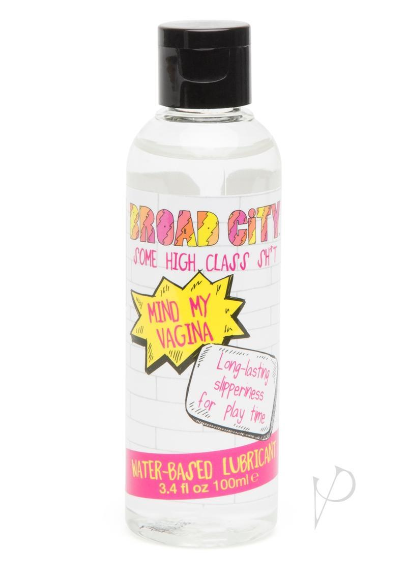 Broad City Mind My Vagina Waterbased Lubricant 3.4 Ounce